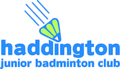 Welcome to the Haddington Junior Badminton Club Website